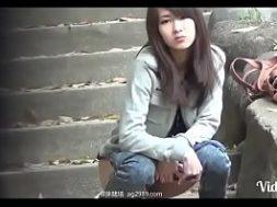 แอบถ่ายหี หี สาวญี่ปุ่น นั่งยองฉี่ คลิปแอบถ่าย